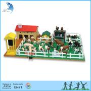 EN71 eco - friendly wholesale toddler animal farm montessori toy
