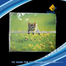 factory cleaning cloth pressed