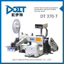 Máquina industrial do ponto cego do laço da correia do DT 370-T com o dispositivo de engomar automático