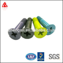 Different material nut and bolt sizes