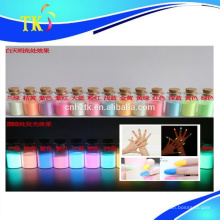 Pigmento fotoluminiscente para cosméticos, esmalte de uñas, etc.