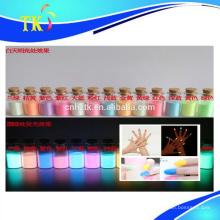 Pigment photoluminescent pour cosmétiques, vernis à ongles, etc.