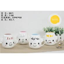 Lovely Mugs with Different Faces Coffee Cup