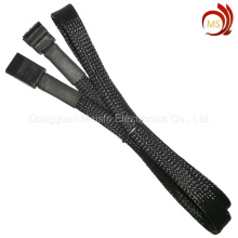 China Manufacturer Sleeved SATA Cable