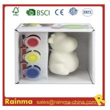 Pintura del color de agua de la porcelana de DIY para los cabritos