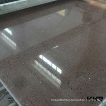 White sparkle quartz floor tile, starlight quartz tiles
