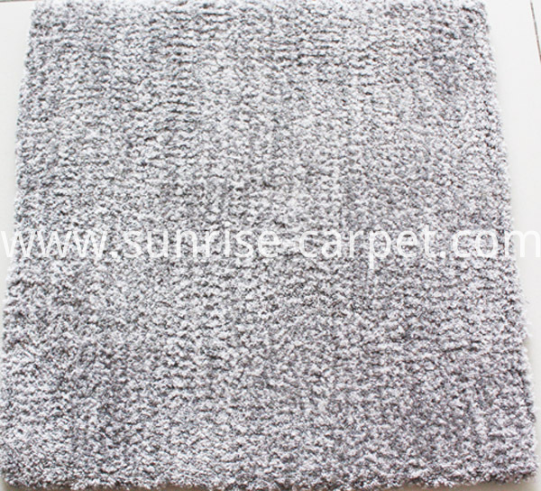 Microfiber Carpet with short pile grey