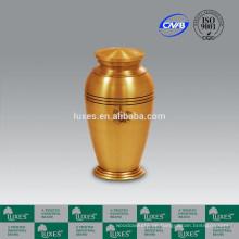 Fertigt Metall Urne für die Asche LUXES heißer Verkauf aus China
