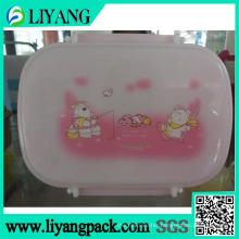 Pink Bear Design, Heat Transfer Film for Lunch Box