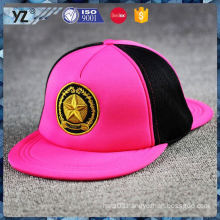Most popular trendy style 5 panel snapback hats wholesale for wholesale