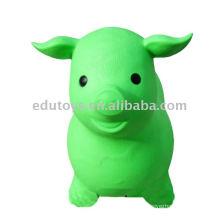 Animal saltador de animais saltando, brinquedos infláveis para crianças