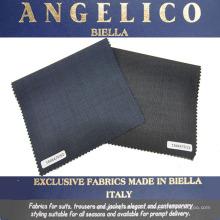 Tela de traje de lana italiana para hombre