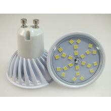 Nouveau produit 2014 4W blanc GU10 24PCS 2835SMD projecteur à LED