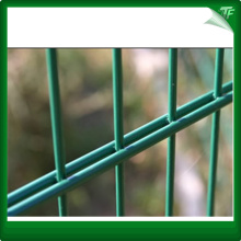 Poly blue wire mesh perimeter fencing panels