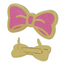 Custom Metal Butterfly Logo Tag