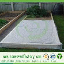 Pano não tecido para cobertura do solo de controle de ervas daninhas