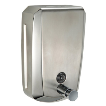 Satin Finish Stainless Steel Hand Soap Dispenser