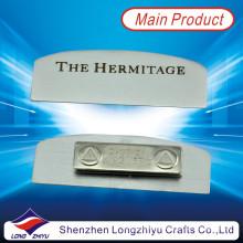Magnetisches Metallgraviertes Typenschild für Firma