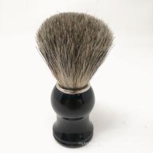 PP Handle shaving brush badger hair beard brush man facial brush