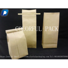 BOLSAS DE PAPEL KRAFT ZIPLOCK BAG