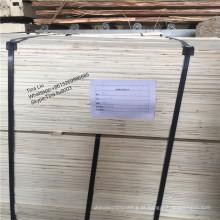 BOA QUALIDADE Poplar LVL, LVL madeira compensada preço, feixe Pine LVL / LVL para móveis