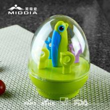 Articles promotionnels / cadeau de Noël pour couteau pliant en céramique / fourchettes / ensemble d'outils de fruits
