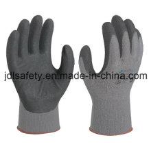Polyamid-Schutzhandschuh mit Sandy Nitril Beschichtung (N1558)