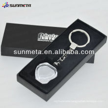sublimation crystal keychain BSK02 made in China