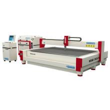 Adapting nesting software cutting sheet waterjet cutting machine