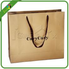 100% Eco-Friendly Custom Printed Paper Bag with Logo Print