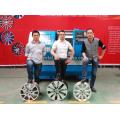 Diamant-Ausschnitt-Legierungs-Räder reparieren CNC-Drehbank-Maschine AWR2840