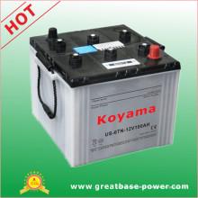 12V 100ah Batterie de batterie chargée à sec Batterie de véhicule américaine Us-6tl-2