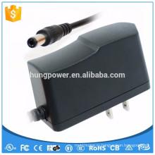 Pos адаптер питания одобренный светодиодный источник питания 7 5v 1a адаптер переменного тока