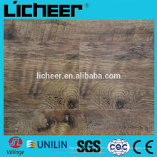 Plancher en stratifié / socle en bois à rainures / sol stratifié haute qualité HDF