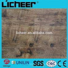 Laminado piso / v groove piso de madeira / alta qualidade HDF laminado pavimentação