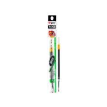 Stationery smooth gel pen black 0.5mm push writing pen refill