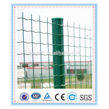 PVC coated welded garden metal holland euro fencing post