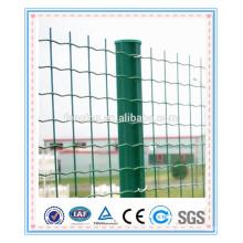 PVC coated welded garden metal holland euro fencing post