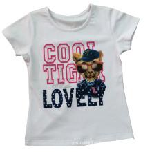 De Buena Calidad Camiseta impresa aduana de los niños de los niños (SGT-028)