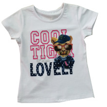 Good Quality Kids Children Custom Printed Dog T-Shirt (SGT-028)