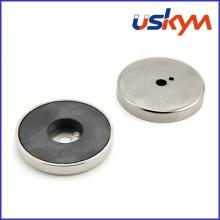 Permanent Neodymium Pot Magnet (P-003)