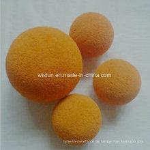Reinigungs-Gummischwamm-Ball / Schwamm-Reinigungs-Ball für Rohr