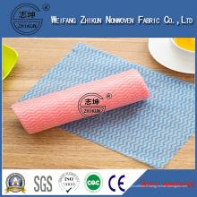 Chiffon propre industriel de tissu non-tissé de Spunlace