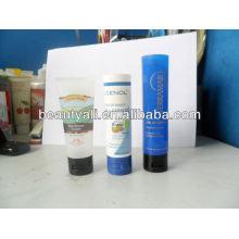 Embalagem plástica cosmética do tubo para o produto do cuidado da pele