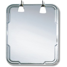 Espejo de baño de plata decorativo competitivo (JNA113)