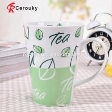 Meets FDA requirements cheap porcelain mugs