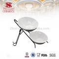 modern kitchen designs buffet hotel tableware sets , serving chafing platter