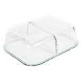 Durable Microwave Reusable Glass Food Container Meal Prep