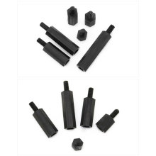OEM Hobbycarbon Black Nylon Plastic male to female hex or round standoff