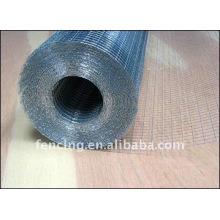 Rollo de malla de alambre soldado con autógena galvanizado (fabricante)